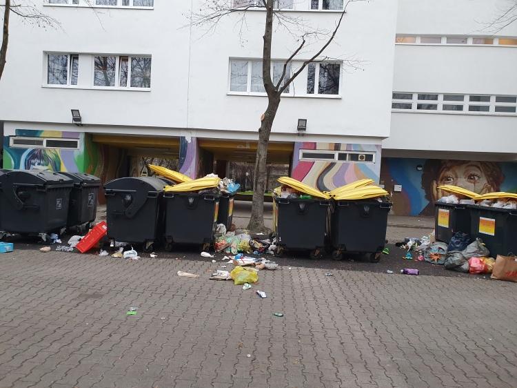 Müllplatzsituation am 27.12.2020